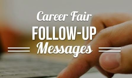 The Right Way to Follow Up After a Career Fair (Email Template Included!)