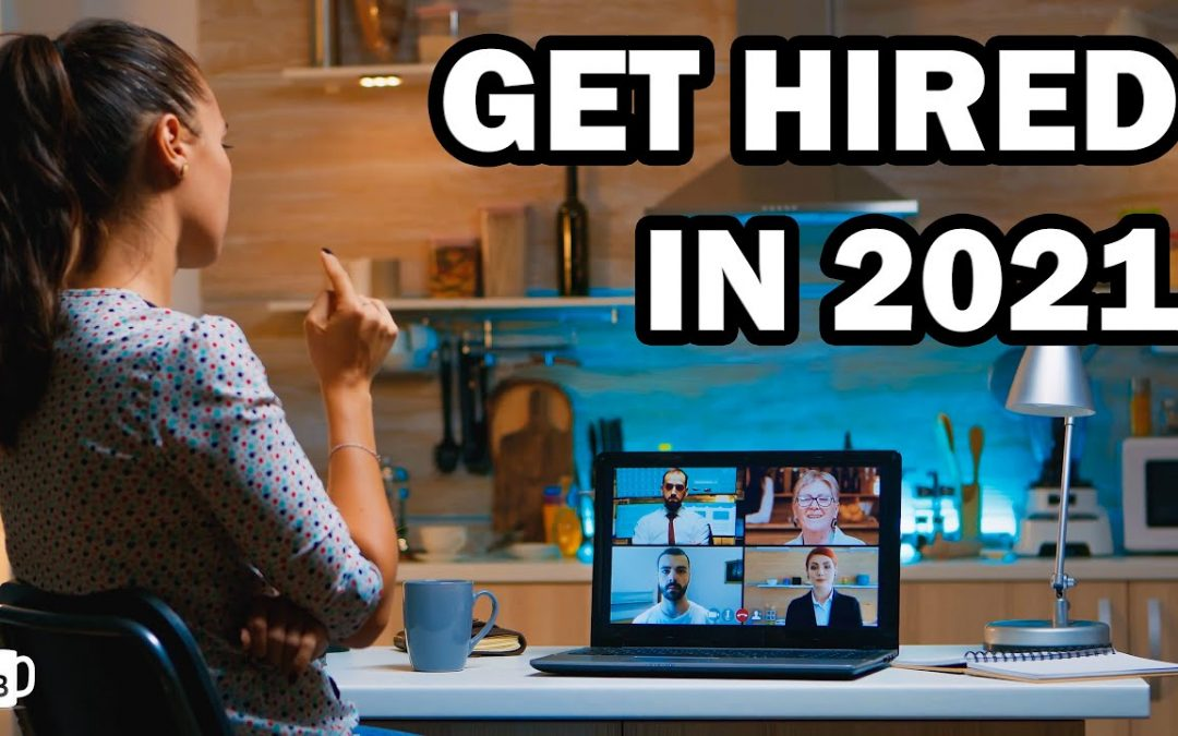 Starting 2021 off right-now is the best time to start your job search