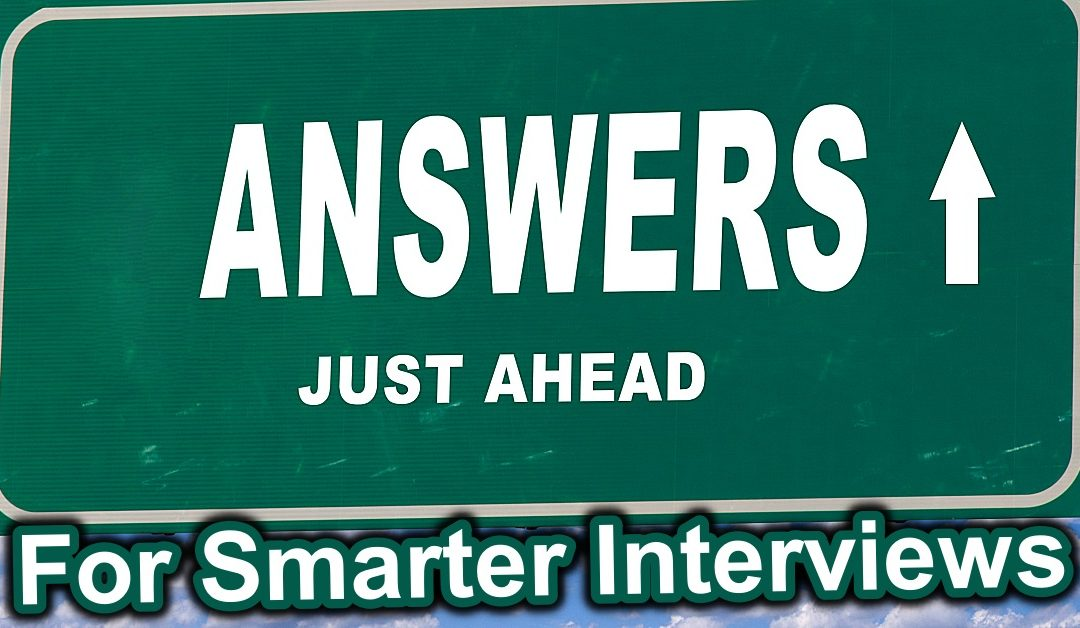 Ask the experts about interviews