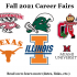 Fall 2021 Career Fairs are a MUST!